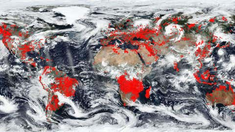 Worldview/EOSDIS/Nasa Earth; Erdbeobachtungssystem-Daten- und Informationssystem (EOSDIS)