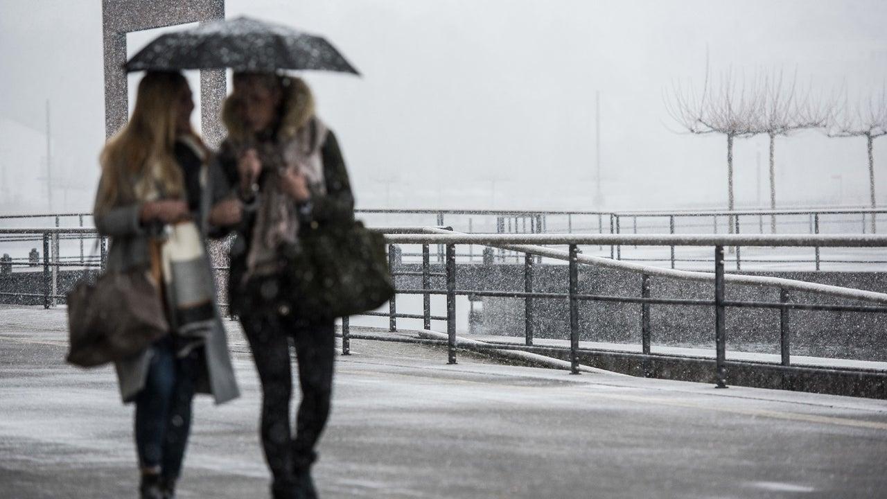 Wetter am Wochenende: Ungemütlich und milder mit Regen und Schnee