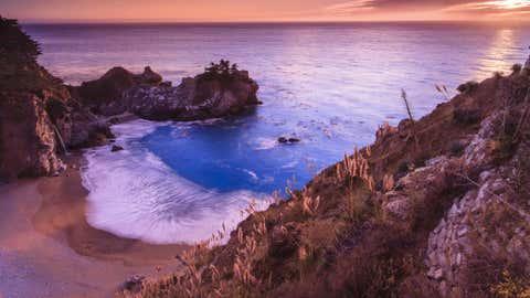 lila Strand (schlechtes Bildbeispiel evt. anderes verwenden)