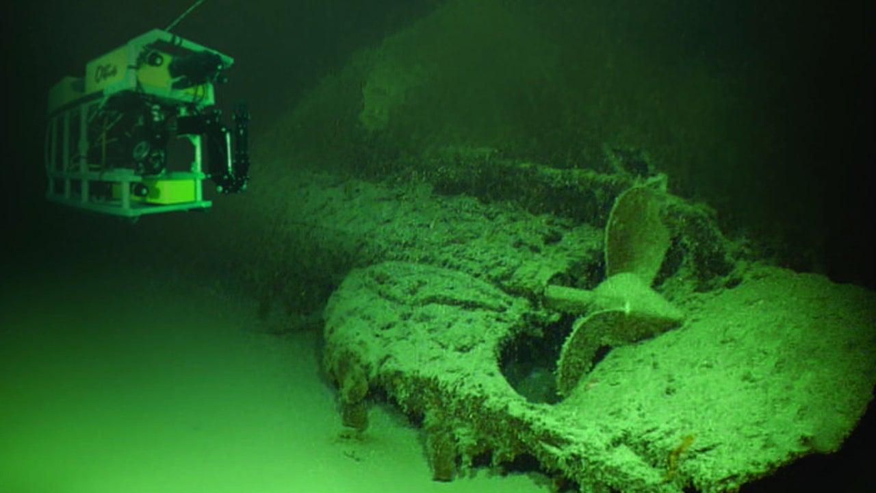 """Die """"USS Grayback"""" gehört zu den U-Booten mit den meisten feindlichen Abschüssen im Pazifik. Ozeanforscher haben das im zweiten Weltkrieg verschollene US-U-Boot rund 50 Seemeilen südlich von Okinawa aufgespürt."""