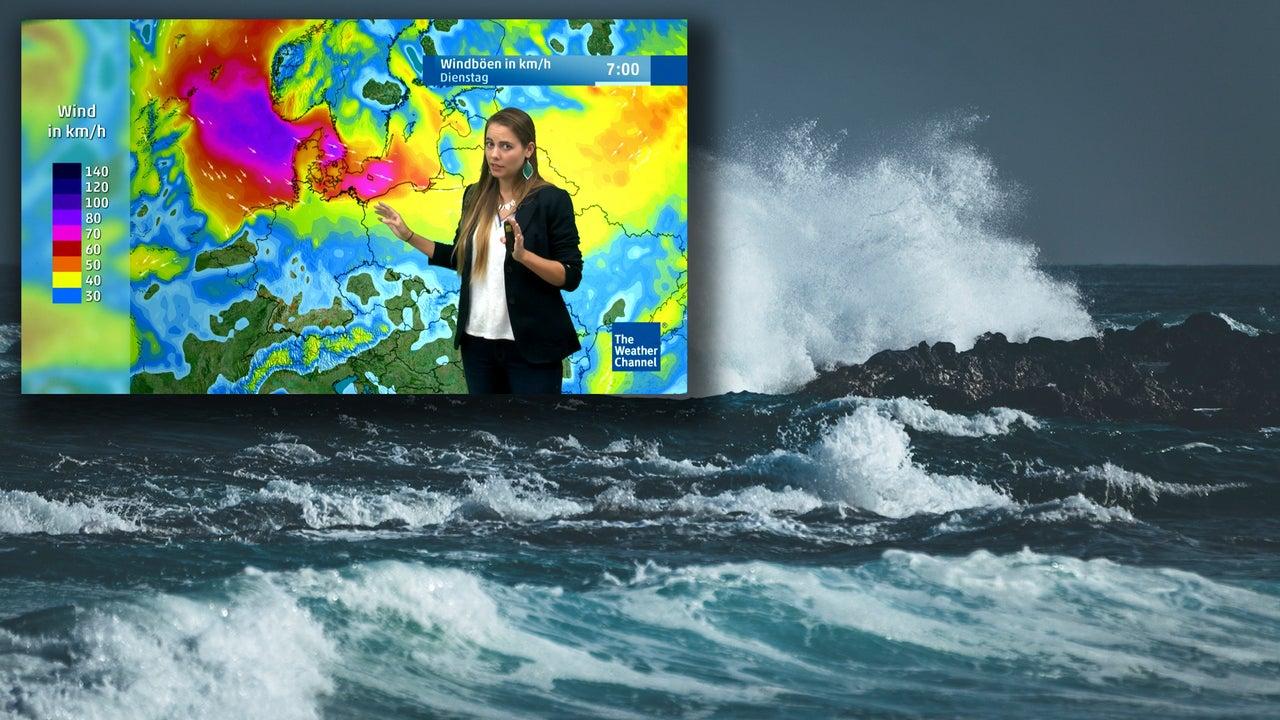 Wasserhosen, Sturm, Gewitter
