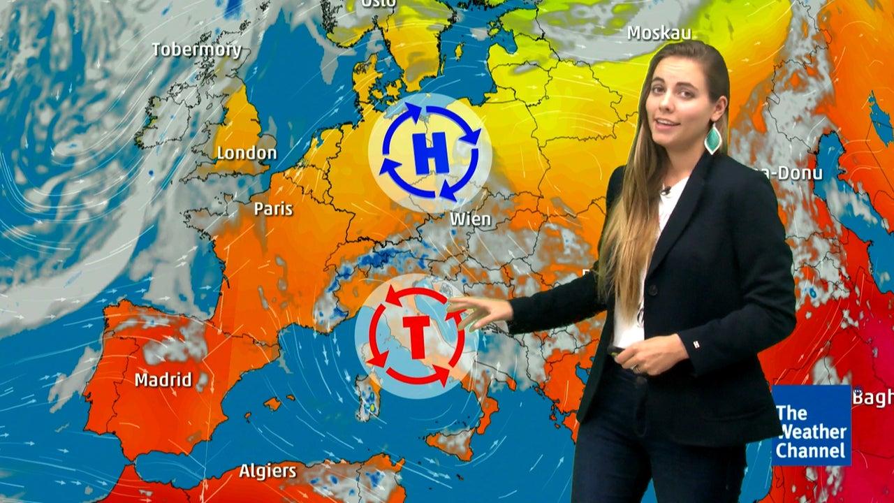 Auf Hitze folgen Blitze - wo am Freitag Gewitter aufziehen