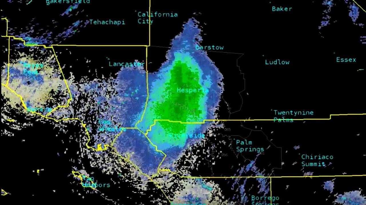 Auf dem Wetterradar sah es so aus, als würde eine ganz gewöhnliche Regenwolke über die Landschaft ziehen. Doch als die Mitarbeiter des amerikanischen Wetterdienstes in San Diego, Kalifornien, aus dem Fenster sahen, erblickten sie keine Wolken am Himmel.