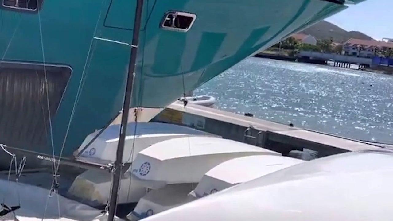 Die Luxus-Jacht  des Capri-Sonne-Unternehmers Hans-Peter Wild hat in der Karibik einen Anlegesteg zerstört. Dabei krachte das Boot nicht nur einmal in den Hafen des Jachtclubs.