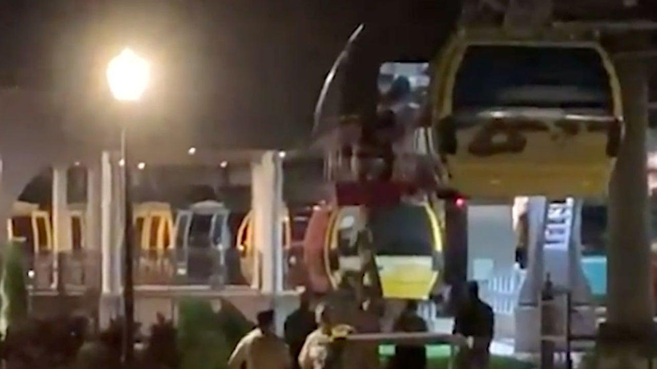 Nightmare Saturday Night for Passengers Stuck in Disney World Gondolas