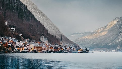Photographer Dito Tediashvili traveled to a small village in Austria called Hallstatt to document a city that looks like it came straight out of a fairytale. (Dito Tediashvili)