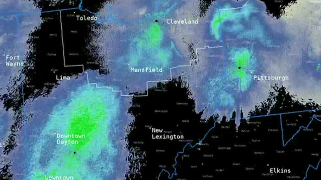 Dragonfly Swarm Captured by Radar in Several Midwestern States