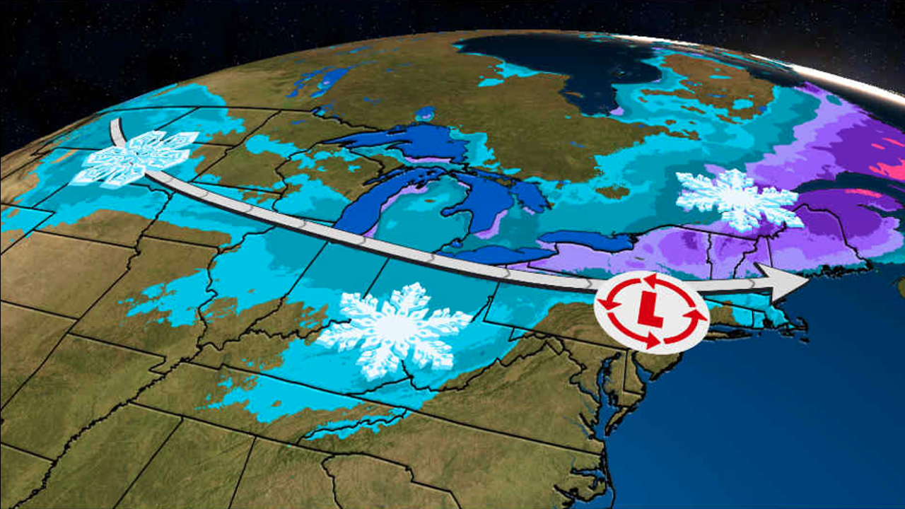 Parts of Northeast, South Could See First Snow of the Season