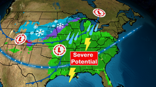 Easter Severe Threat Means Staying Inside Not a Bad Idea
