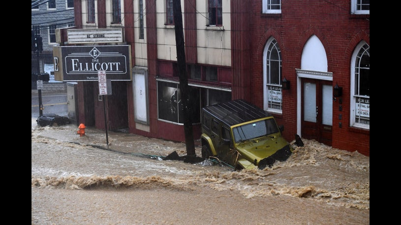 Historic City on Edge After Pair of 1,000 Year Floods