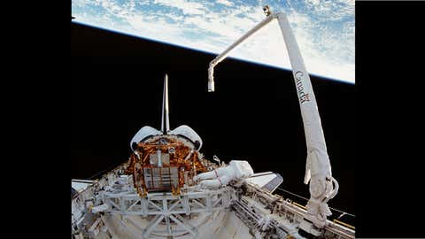Canadarm (Courtesy of NASA)