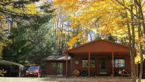 Hunting cabin in the fall (HalifaxToday.ca)