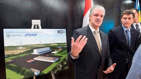 Stephen Matier, president of Maritime Launch Services Ltd., said the goal is to break ground by mid-May, and to begin launching satellites in 2020. (Photo Courtesy of Halifax Today)