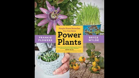 Power Plants: Simple Home Remedies You Can Grow, a harvesting and homeopathic guide to widely used herbs, vegetables and fruit. (Chatelaine)