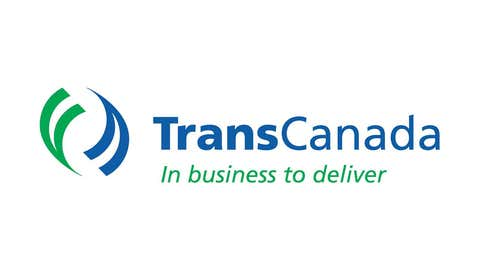The corporate logo of TransCanada Corp. is shown. (Handout photo/via Canadian Press)
