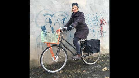 Smith Lea is 55, and a long-time cycling advocate. The Toronto Centre for Active Transportation, where she is director, is dedicated to improving conditions for cyclists and pedestrians in the city. (Provided by Chatelaine)