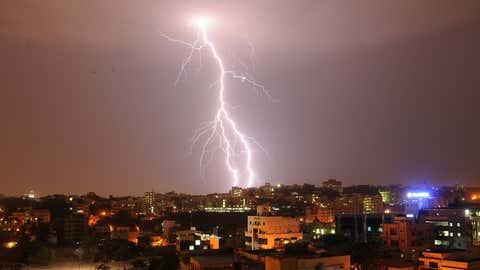 Lightning over Hyderabad (Ramoorthy P, TOI, Hyderabad, BCCL)