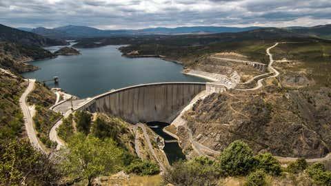 El pantano de Atazar, en Madrid. MARIOVALVERDE.COM / GETTY