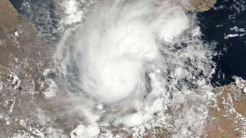 El ciclón tropical Sagar, el viernes pasado. / NOAA