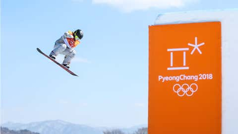 La deportista de EEUU Jamie Anderson, poco antes de ganar la medalla de oro de snowboard en la modalidad de halfpipe. LAURENT SALINO / AGENCE ZOOM / GETTY
