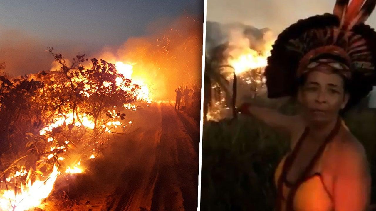 """Video zu Waldbränden: Brasilianerin klagt unter Tränen an: """"Ich will, dass das alle sehen!"""""""