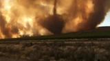 Huge Firenado Forms During Washington Wildfire
