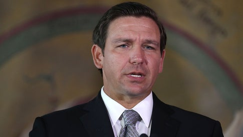 Florida Gov. Ron DeSantis on Thursday announced major changes to clean up Florida's waters, including spending $2.5 billion and launching more aggressive policies to address algae choking Lake Okeechobee and polluting the state's coasts. (Joe Raedle/Getty Images)