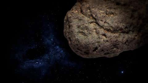 Le corps céleste a été trahi par son orbite étrange. (Illustration - CCO)