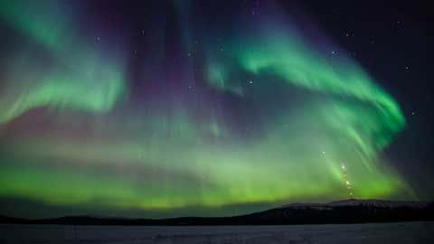 La dispersion de colorants dans l'atmosphère doit aider à mieux comprendre les vents solaires.(CCO)