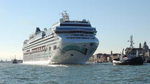 Un bateau de la Norwegien Cruise Line à Venise. (CCO)