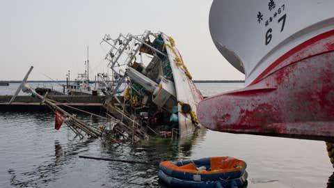 La catastrophe de 2011 avait fait 20 000 morts. (U.S. Air Force photo/Osakabe Yasuo)
