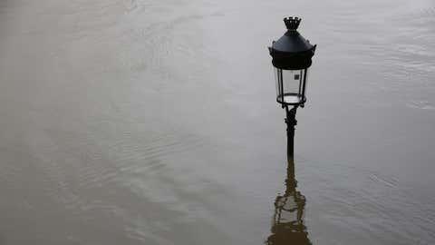 La crue de la Seine est amplifiée par les forts coefficients de marée. (Illustration/CCO)