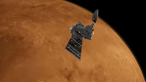Le module doit servir à détecter des indices de vie sur la planète rouge. (ESA/ATG medialab)