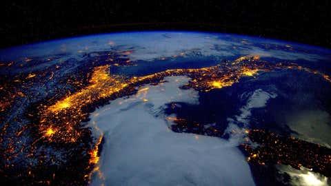 Vue de la Terre depuis l'espace. (Crédit : CCO Creative domain)