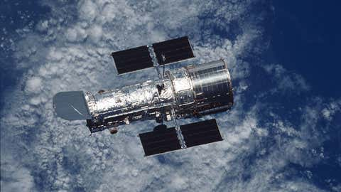 Un gyroscope, essentiel à son bon fonctionnement, a pu être redémarré. (NASA)