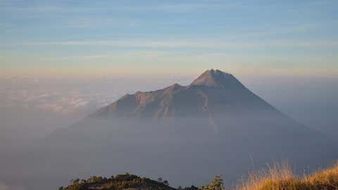 L'île indonésienne de Java a notamment été touchée. Ici, l'île de Java. (CCO)