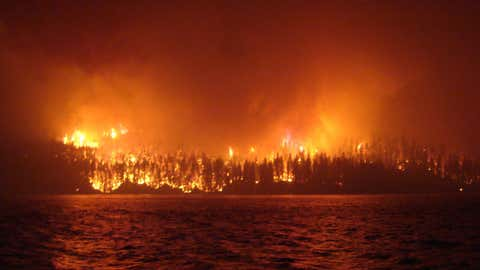 En 2017, comme sur cette photo, la région avait déjà été la proie de gigantesques incendies (CCO)
