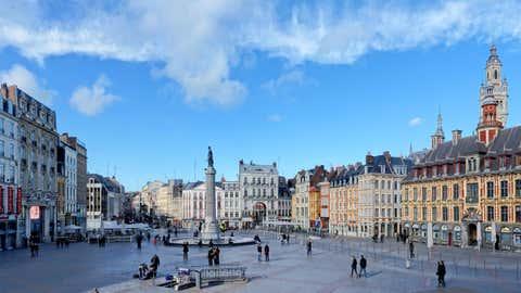 Dans le nord de la France, comme à Lille (photo) on a dépassé les 20 degrés mardi. (CCO)
