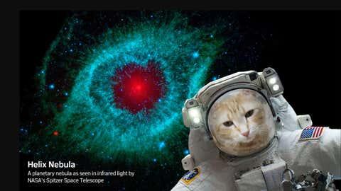 Prenez-vous en photo au cœur des Nébuleuse d'Orion ou de l'Hélice ! (NASA)