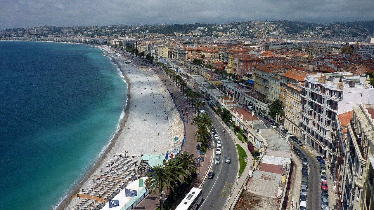 Une spectaculaire inondation en plein cœur de Nice