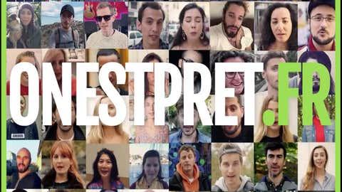 """60 stars du web s'engagent à changer de comportement. (Capture Facebook """"Onestpret"""")"""