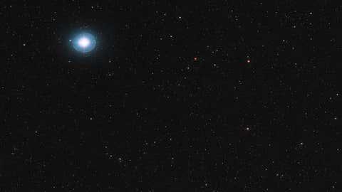 L'environnement dans lequel se trouve Ross 128b (Crédits ESO)
