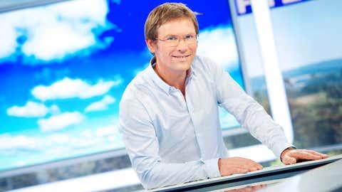 Présentateur de Météo à la carte, sur France 3, Laurent Romejko a débuté à l'antenne en 1989. (Groupe France Télévisions France 3)