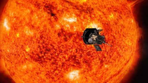 800 000 patronymes seront inscrits dans une puce de la sonde Parker Solar Probe. (Crédit Nasa/Johns Hopkins APL/Steve Gribben)