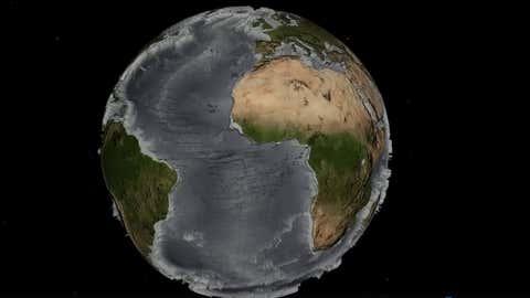 Découvrez les failles et les reliefs sous-marins avec précision. (Capture NOAA)