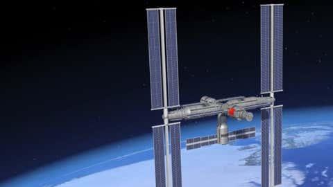 La Chine a développé seule cette station qui doit être mise en service en 2022. (Capture Tomonews)