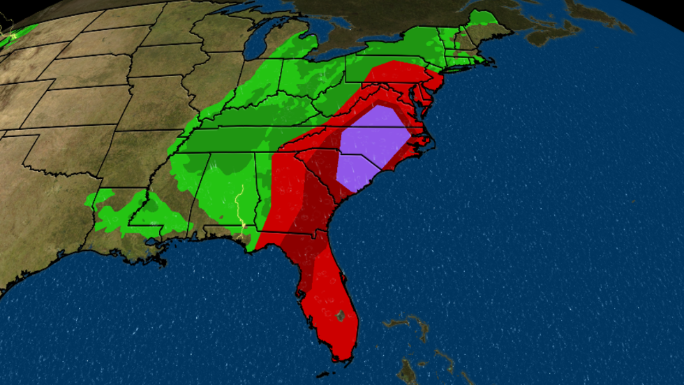 Severe Threat Continues Through Today