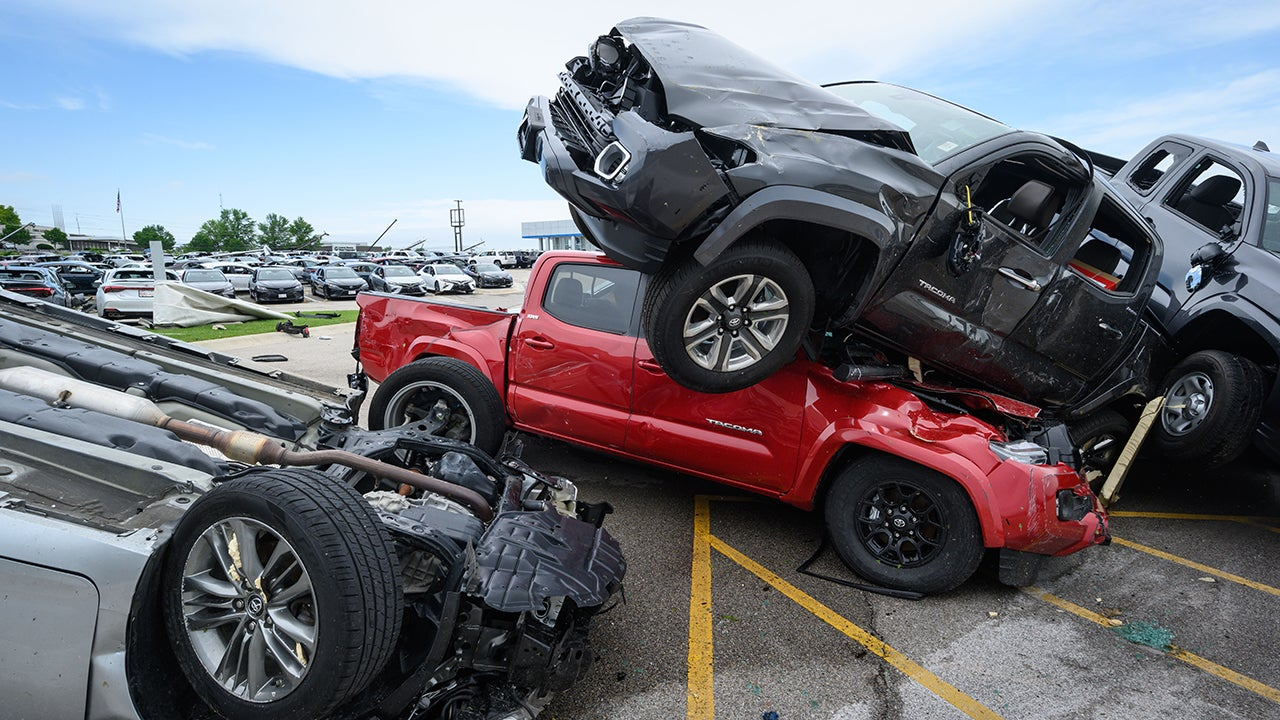 Twister Turns Missouri Auto Dealership into Mangled Mess of Metal