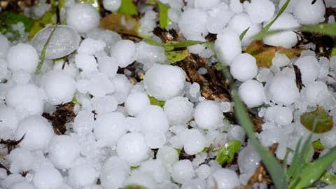 Hail is a form of solid precipitation. It is distinct from sleet, though the two are often confused for one another