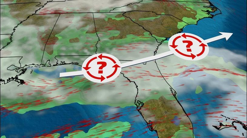 Slight Chance of Tropical Development off Atlantic Coast Into Next Week